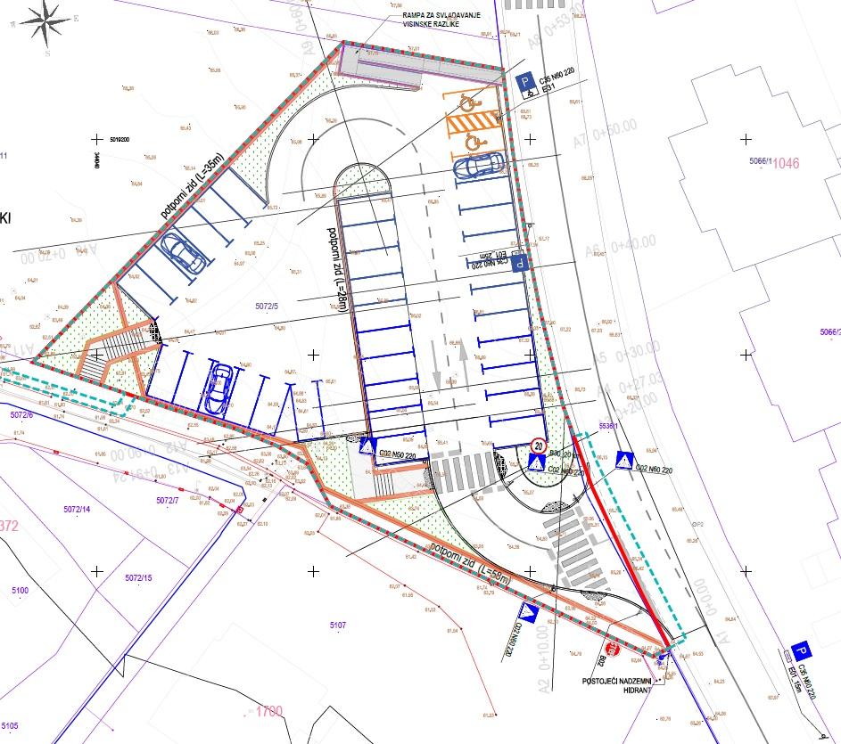 Kreće izgradnja parkirališta u Pavekima